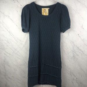 Twelve by Twelve Blue Mini Dress, Size M